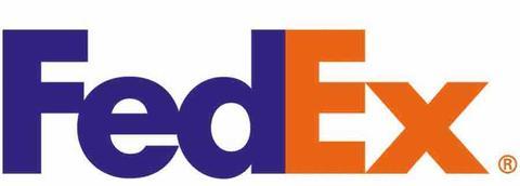 FedEx Logo - Arrow between the E and X