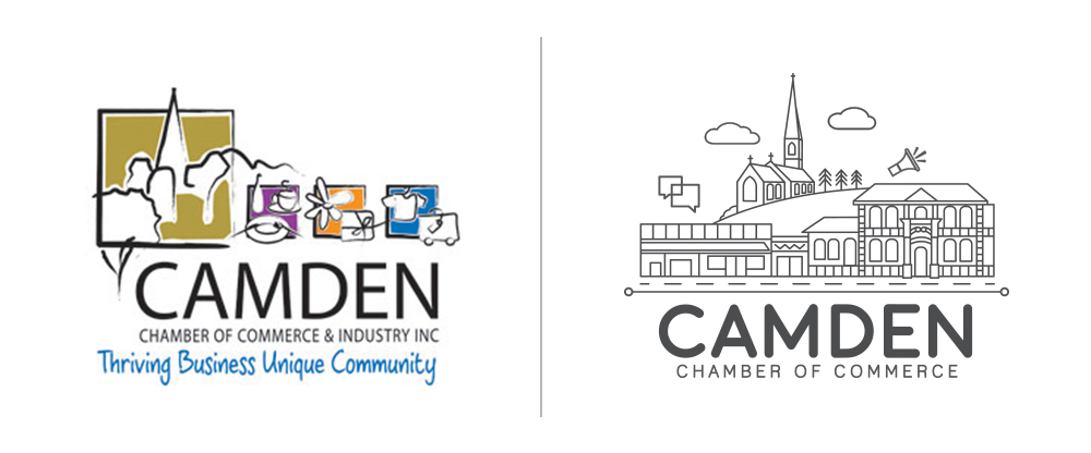 Camden Chamber of Commerce Rebrand