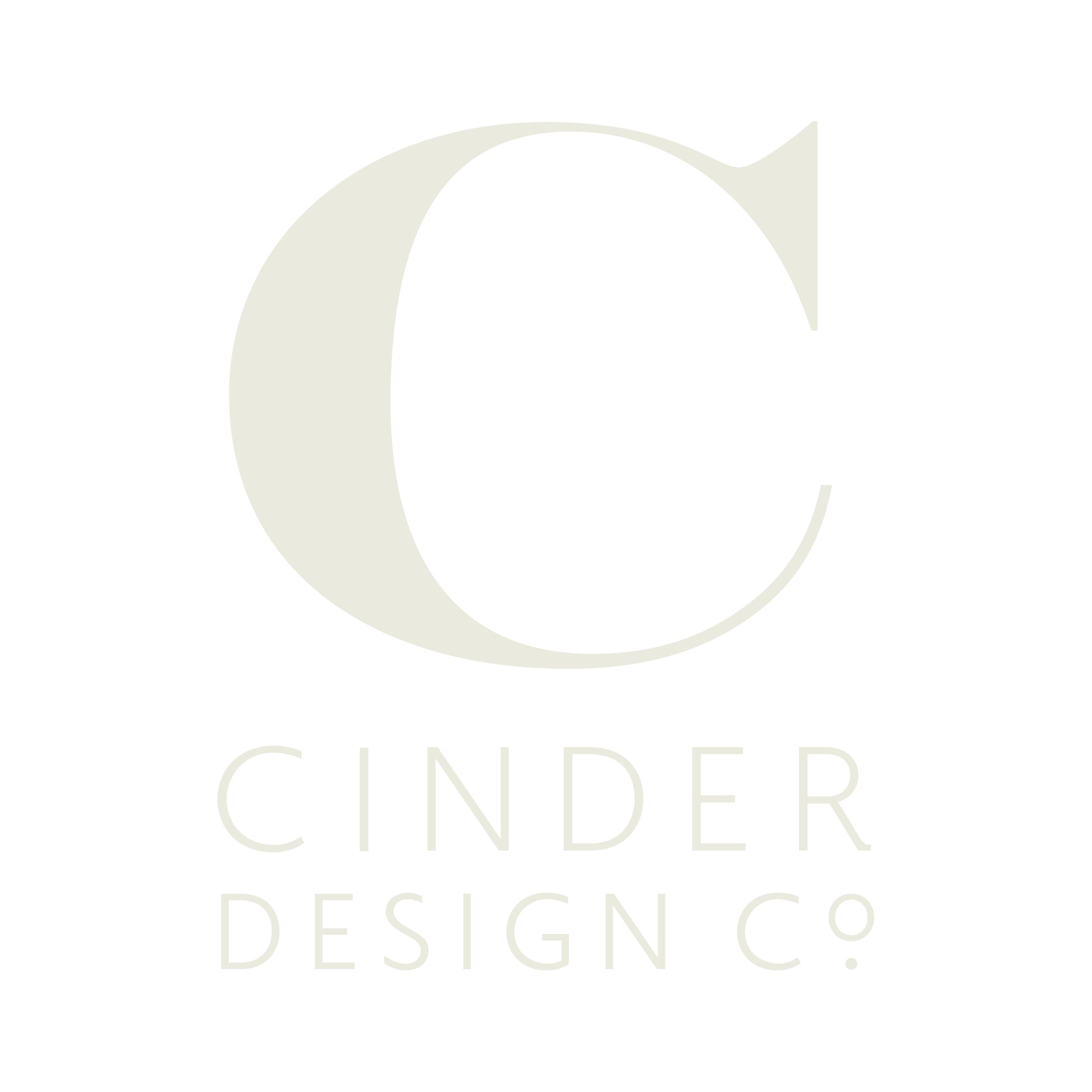 Cinder Design Co. Identity