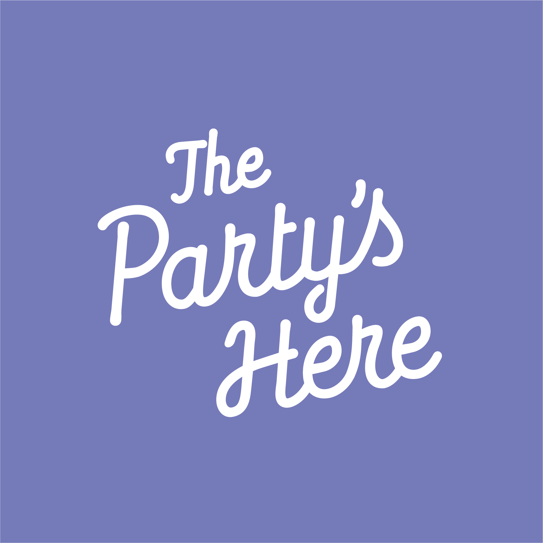 The Partys Here Identity
