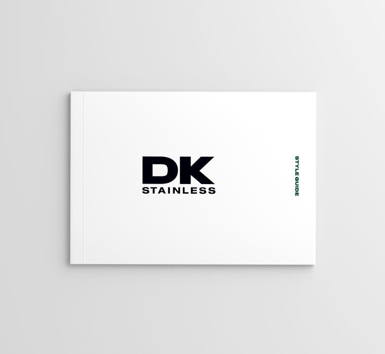 DK Stainless Brand Identity by Your One and Only