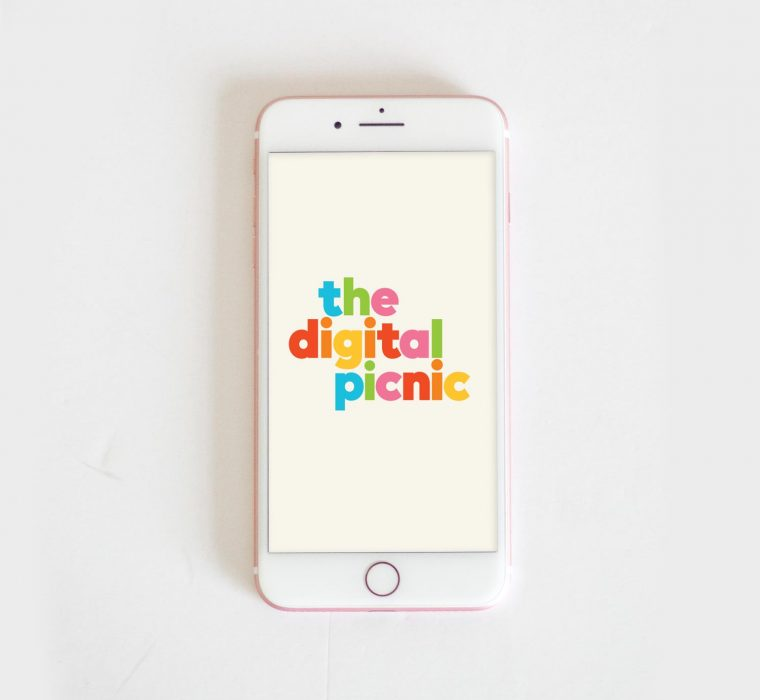 The Digital Picnic Branding by Your One and Only